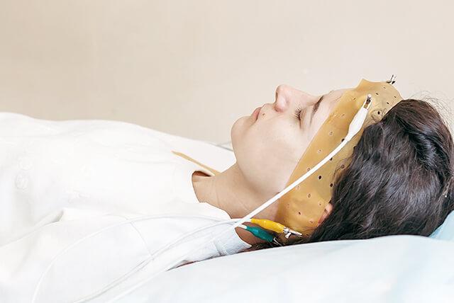 睡眠ポリグラフィー検査
